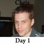 Chris P90x Workout Reviews: Day 1 /w pics