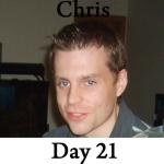 Chris P90x Workout Reviews: Day 21