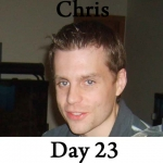 Chris P90x Workout Reviews: Day 23