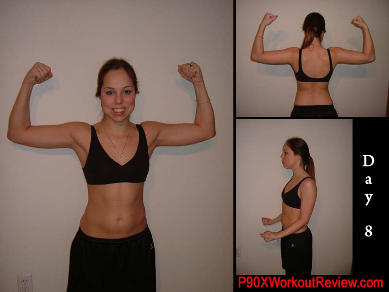 p90x before and after girls. Chelsea P90x Workout Reviews: