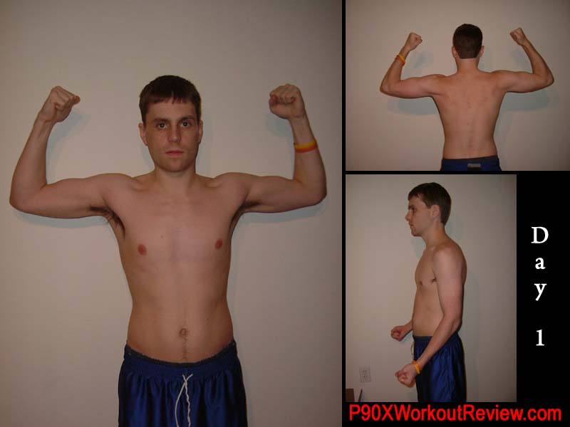 Chris P90x Results Day 1