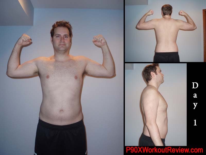Jason P90x Results Day 1