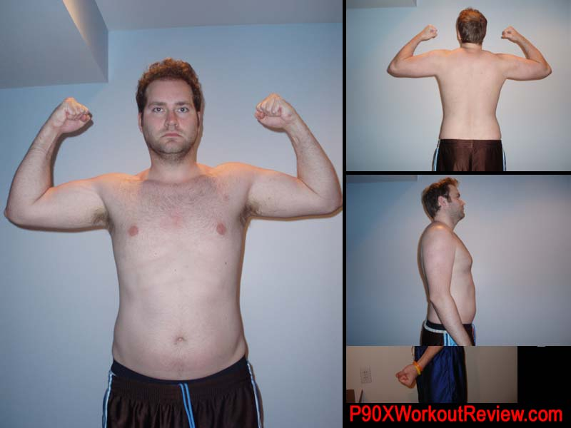 Jason P90x Results Day 8