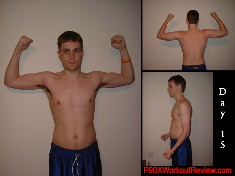 Chris P90x Results Day 15