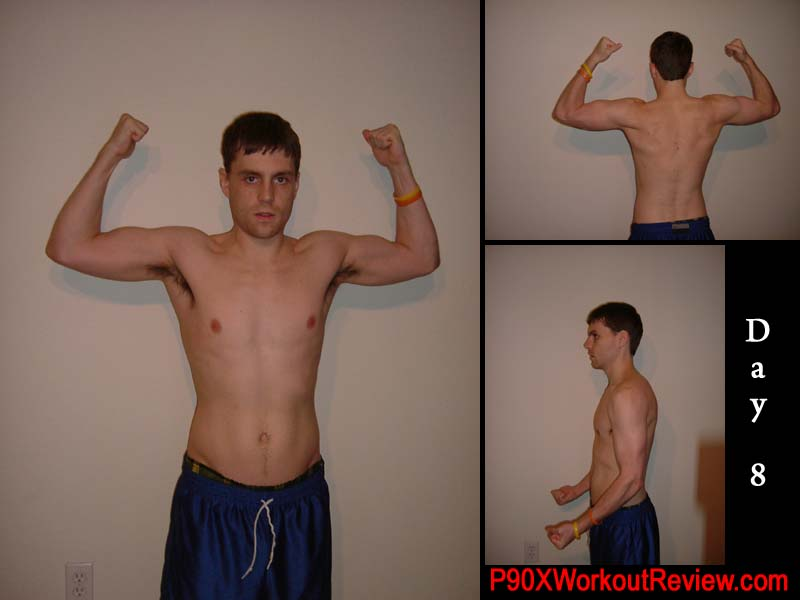 Chris P90x Results Day 8